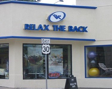 Relax The Back Store in Bryn Mawr PA store image
