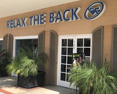 Relax The Back Store in Pasadena CA store image